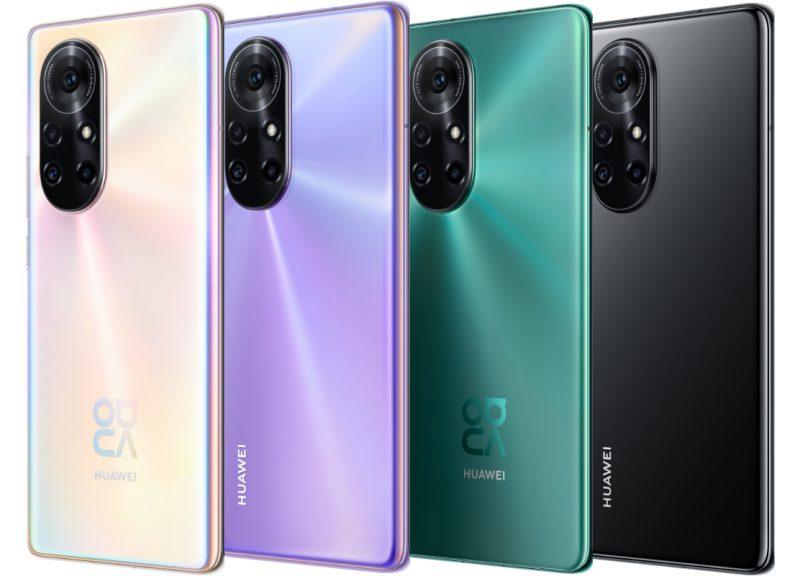 Huawei Nova 8 Pron värivaihtoehdot.