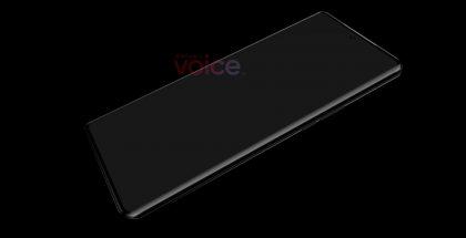 Huawei P50 Pron mallinnos. Kuva: OnLeaks / Voice.