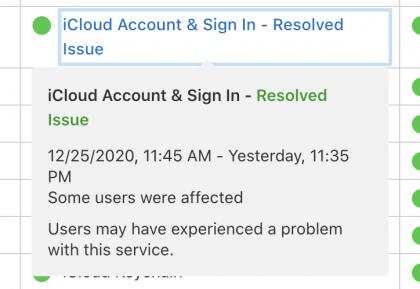Laitteiden aktivoinnin epäonnistumiseen johtaneet iCloud-ongelmat on Applen mukaan nyt korjattu.