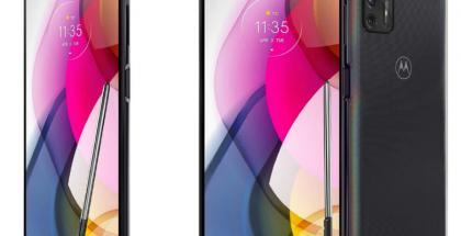 Motorola Moto G Stylus (2021) aiemmin Amazon-verkkokaupan kuvissa.