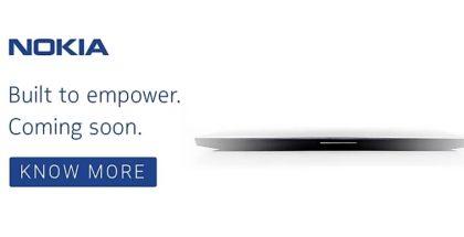 Flipkart vihjaa tulevasta Nokia-läppärijulkistuksesta.