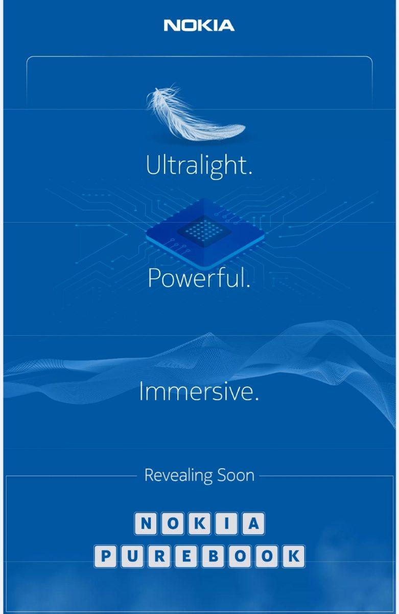 Tulevia Nokia PureBook -läppäreitä markkinoidaan kevyinä, tehokkaina ja mukaansatempaavina, mikä lienee viittaus niiden kuva- ja äänitoisto-ominaisuuksiin.
