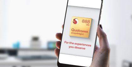 Qualcommin Snapdragon 888 -referenssilaite.