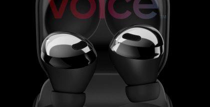Samsung Galaxy Buds Pro, musta. Kuva: Evan Blass / Voice.