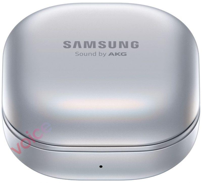 Samsung Galaxy Buds Pro -kotelo, hopea. Kuva: Evan Blass / Voice.
