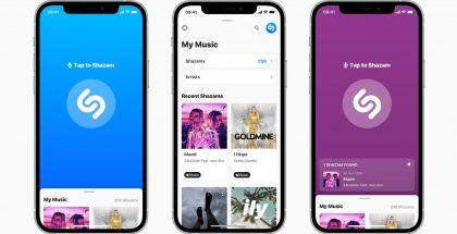 Apple uudisti Shazam-sovelluksen.