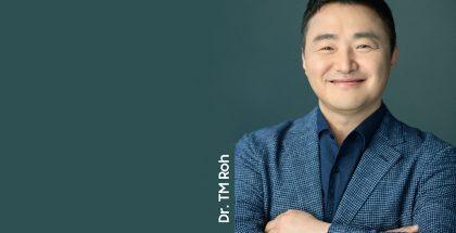 Samsungin mobiiliyksikön johtaja TM Roh.
