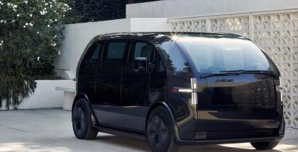 Esimerkki Canoo-yrityksen kehittämästä ajoneuvosta.