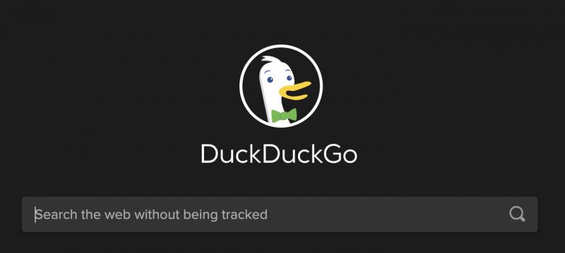 DuckDuckGo kilpailee yksityisyydellä.