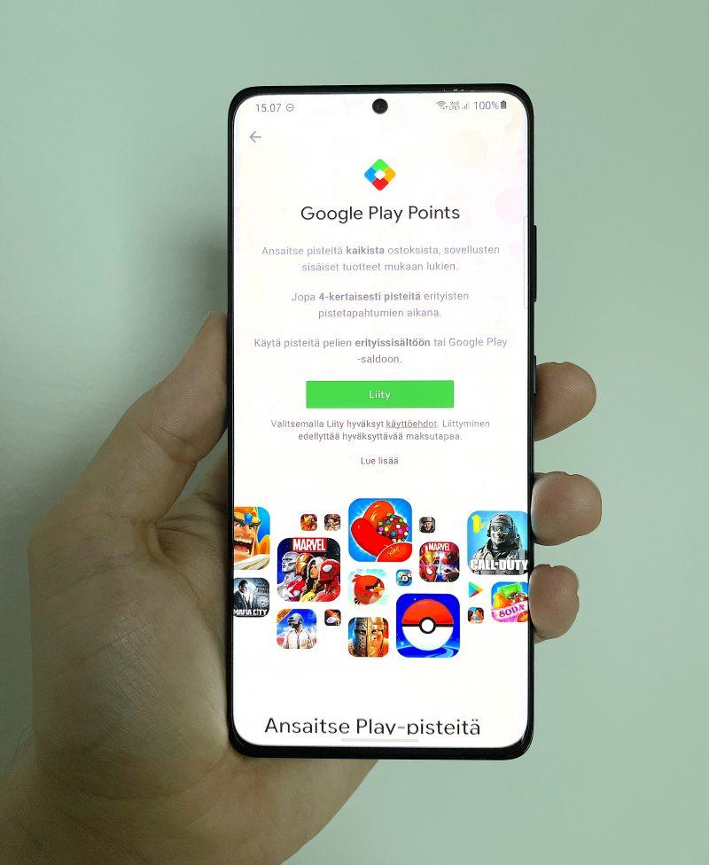 Google Play Points -ohjelma on nyt saatavilla myös Suomessa.