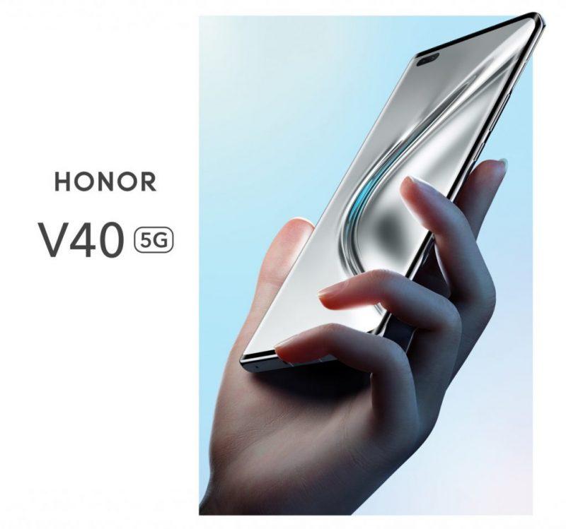 Tältä näyttää Honor V40 5G.