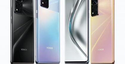 Honor V40 5G uudessa kuvassa.