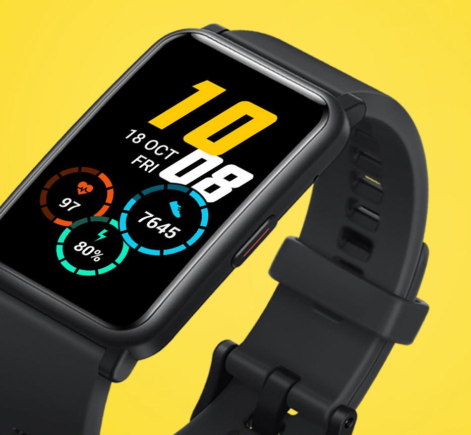 Honor Watch ES on varustettu kookkaalla 1,64 tuuman näytöllä.