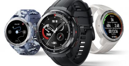 Honor Watch GS Pro eri värivaihtoehtoina.