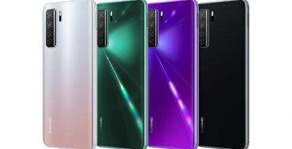 Huawei Nova 7 SE 5G LOHAS Editionin värivaihtoehdot.