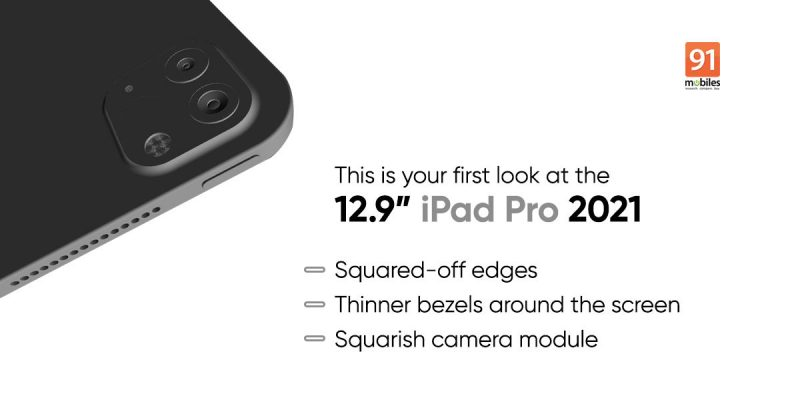 91mobiles on paljastanut mallinnoksia uudesta 12,9 tuuman iPad Prosta.
