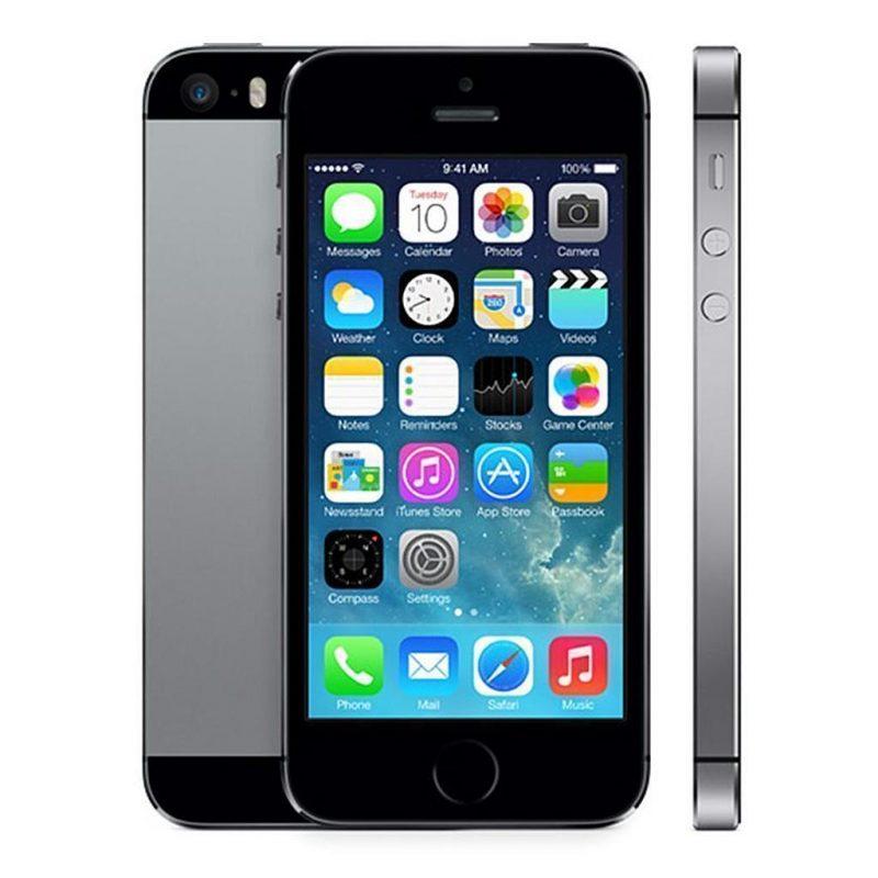 iPhone 5s:n tähtiharmaa värivaihtoehto.