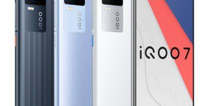 iQOO 7 on Snapdragon 888:lla ja 120 watin pikalatauksella varustettu Android-huippupuhelin.