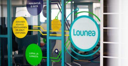 Lounea logo.