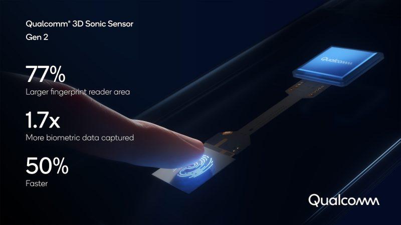 Qualcommin uusi 3D-ultraäänisormenjälkilukija on aiempaa suurempi ja nopeampi.