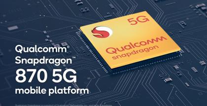 Snapdragon 870 on uusi Snapdragon 865:stä ja 865+:sta viritetty versio.