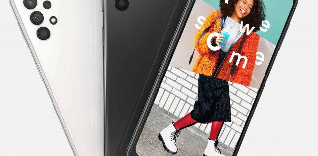 Samsung Galaxy A32 5G -älypuhelin myyntiin Suomessa 12. helmikuuta 279 euron suositushinnalla