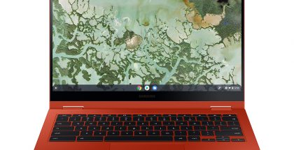 Samsung Galaxy Chromebook 2, Fiesta Red.