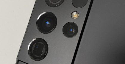 Galaxy S21 Ultra 5G:ssä on neljä erinomaista kameraa.