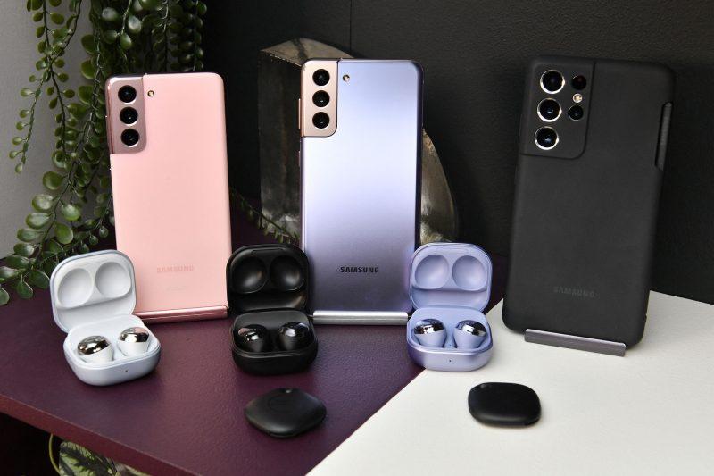Galaxy Unpackedissa tänään julkistettavat laitteet. Kuva: Evan Blass / Voice.