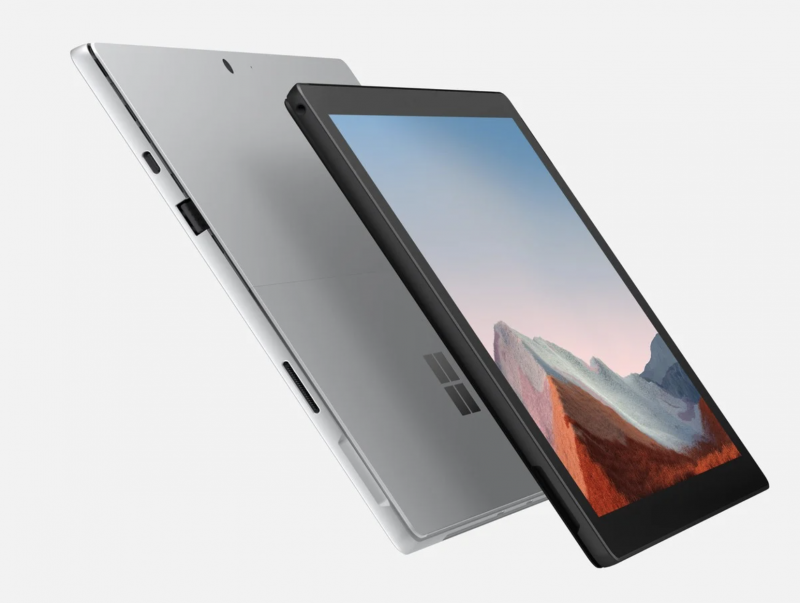 Surface Pro 7+.