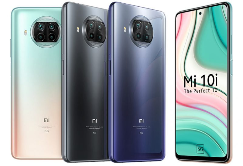 Xiaomi Mi 10i.