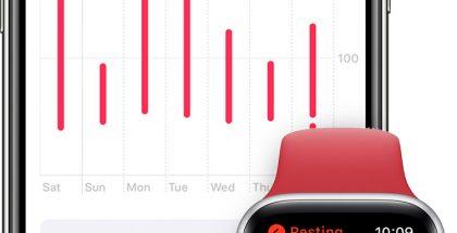 Apple Watchin sykemittausta hyödynnettiin tutkimuksessa koronatartunnan havaitsemisesta.