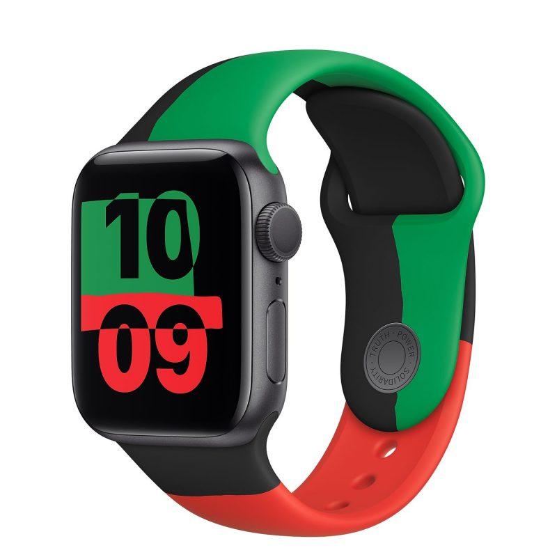 Apple Watch Series 6:n Black Unity -erikoisversio.