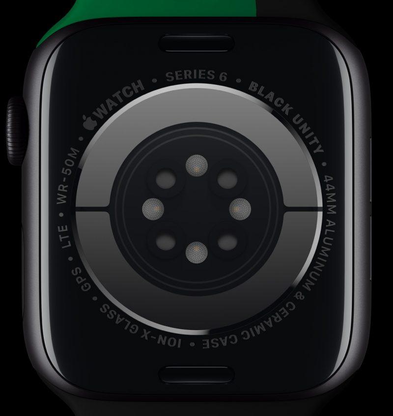 Apple Watch Series 6:n Black Unity -erikoisversion tausta.