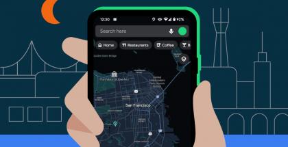 Google Maps saa vihdoin virallisesti tumman teeman.