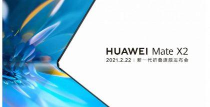 Huawei vahvisti Mate X2 -julkistuksen 22. helmikuuta.