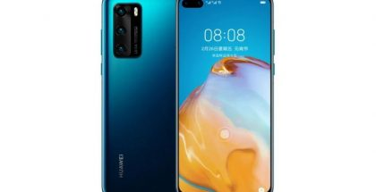 Huawei P40:n 4G-versio, Dark Blue.