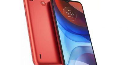 Motorola Moto E7 Power, Coral Red.