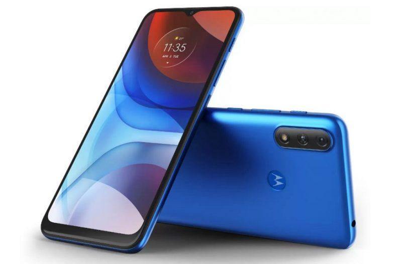 Motorola Moto E7 Power, Tahiti Blue.