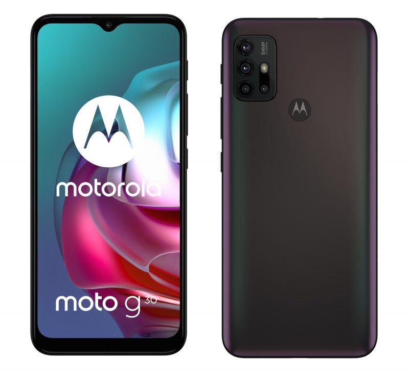 Motorola Moto G30, Phantom Black.
