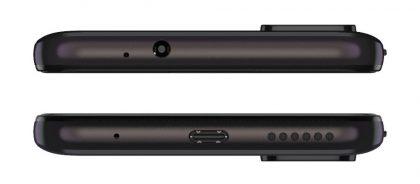 Moto G30 on varustettu myös 3,5 millimetrin kuulokeliitännällä USB-C:n lisäksi.