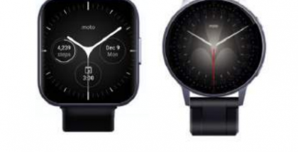 Moto Watch ja Moto One.