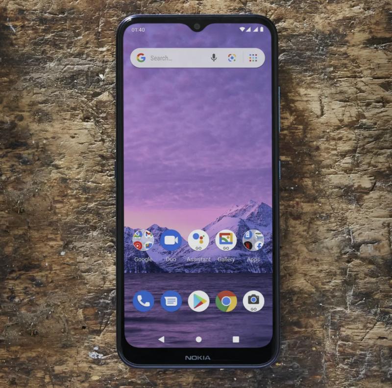 Nokia 1.4:ssä on Android Go edition -käyttöjärjestelmäversio.