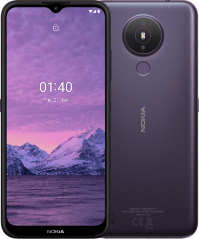 Nokia 1.4, Dusk.
