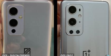 Väitetyt prototyypit aiemmin vuotaneissa kuvissa. OnePlus 9 ja OnePlus 9 Pro.