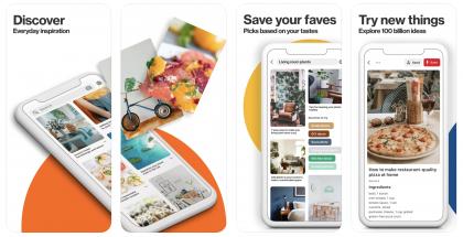 Pinterestissä voi julkaista ja kerätä erilaisia kuvaperusteisia ideoita.