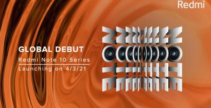 Redmi Note 10 -mallisto esitellään 4. maaliskuuta.