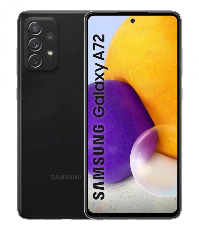 Samsung Galaxy A72. Kuva: WinFuture.de.
