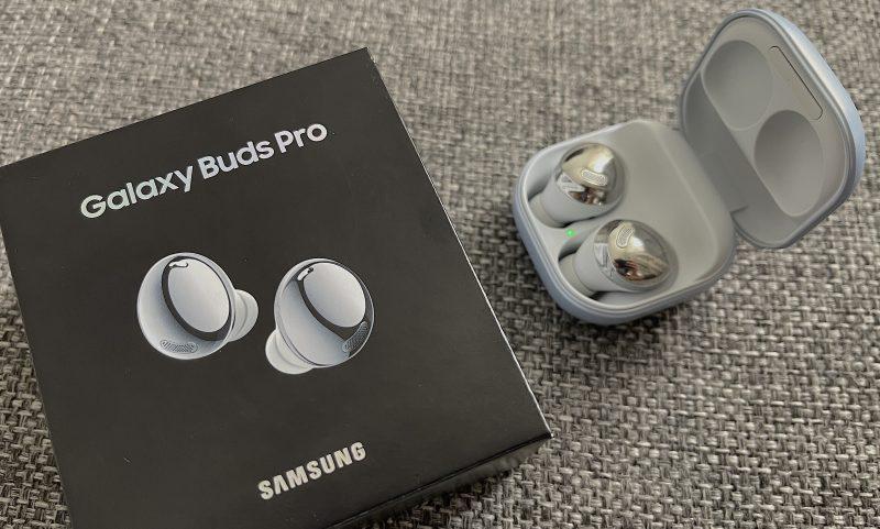 Galaxy Buds Pro -kuulokkeet ovat Samsungin uusimmat ja toistaiseksi parhaimmin varustellut täyslangattomat nappikuulokkeet.