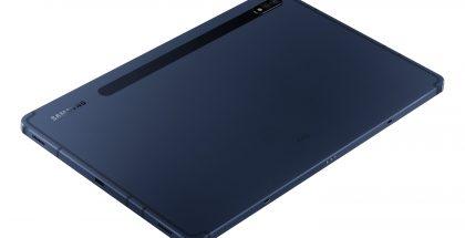 Samsung Galaxy Tab S7 -tablettien uusi Phantom Navy -värivaihtoehto.